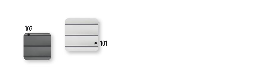 Vzorky předokenní rolety ARZ