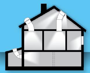 Prosvětlení interiéru budovy