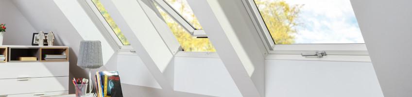 Kyvná střešní okna se zvýšenou odolností proti vlhkosti